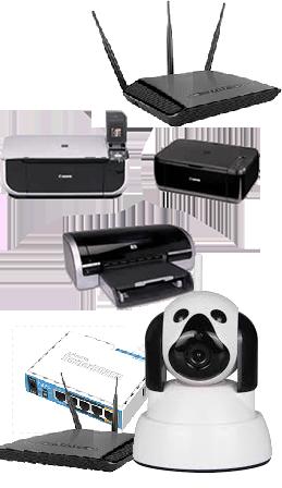 Configurare router sau imprimante